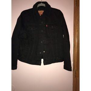 NWOT Black Jean Jacket
